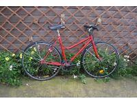 "Mens Road bike - 5 speed - 20.5"" (52cm) frame. Fully serviced."