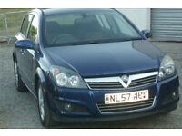 Vauxhall Astra petrol 5 door hatchack car 1.6 sxi, long MOT