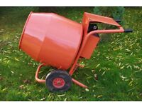 Used Belle Electric Cement Mixer
