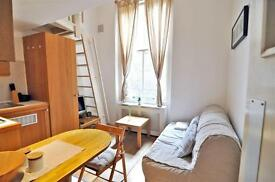 Studio flat in Fairholme Road, West Kensington, London W14