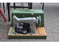 vintage electric jones sewing machine model e