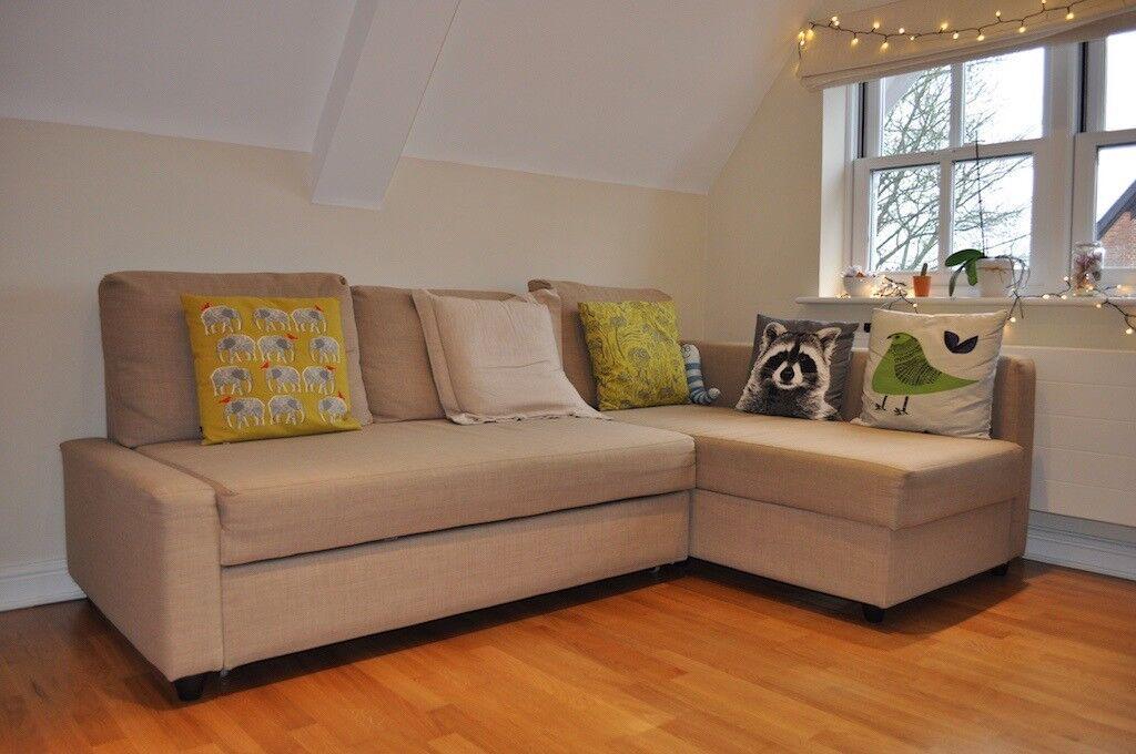 ikea friheten corner sofa bed with storage in guildford surrey gumtree. Black Bedroom Furniture Sets. Home Design Ideas