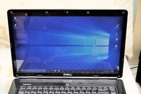 Dell 1545 15.6 laptop, win 10 Pro 750 GBHDD,4GB ram web cam wi /fi charger fully operational