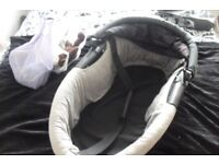 BABY CARRIER FOR THE MAXI TAXI BRAND PUSHCHAIR IN BLACK/GREY