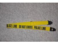 Police Line Guitar Strap