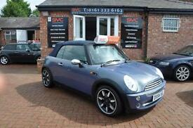 MINI CONVERTIBLE 1.6 COOPER 2d 114 BHP LPG CONVERSION/SATNAV/LEATHE (blue) 2004