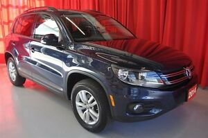 2014 Volkswagen Tiguan Trendline AWD AT - One Owner
