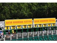 GoodWood Tickets - Sat 27 Aug - 2x Gordon Enclosure - Children Free