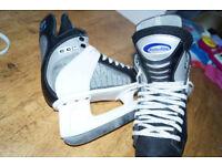 C4 Powerline 600 CCM Ice Skates Size 6 UK