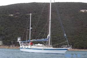 Motiva 42 steel Ketch Clarence Point West Tamar Preview