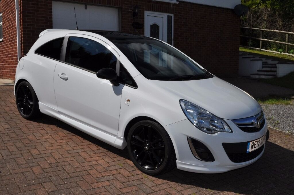 vauxhall corsa limited edition 1 3 ecoflex white 2012 in blackwood caerphilly gumtree. Black Bedroom Furniture Sets. Home Design Ideas