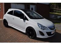 Vauxhall Corsa Limited Edition. 1.3 Ecoflex. White. 2012.