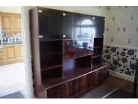 A large showcase cabinet of good quality not Ikea etc Bargain at 25