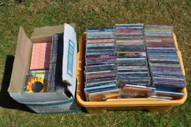 Job lot of CDs Singles & Albums Mainly Chart from 80' & 90's Great for carbooting