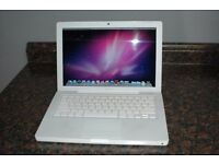 "1.83Ghz WHITE 13"" MacBook 2GB 160GB FINAL CUT PRO MICROSOFT OFFICE ABLETON LOGIC PRO 9 GARAGEBAND"