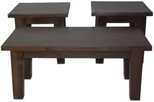 Amish Mennonites Made Solid Wood Coffee Tables, Side Tables, Hallway Tables for Your DIY project - FREE SHIPPING