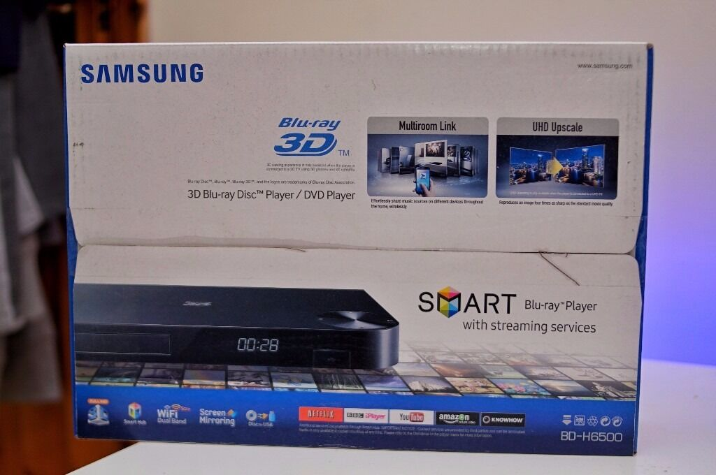 Samsung BD-H6500 3D Blu-Ray player