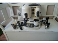 KITCHENAID ARTISAN CREAM COFFEE MACHINE