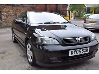 VAUXHALL ASTRA 1.8 16V 2DR CONVERTABLE (PART SERVICE HISTORY)