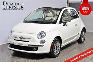 2015 Fiat 500C LOUNGE**DÉCAPOTABLE**