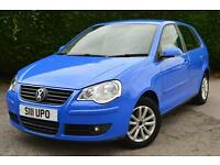 VOLKSWAGEN POLO S ONLY 28,000 MILES (blue) 2007