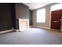2 double bedroom UNFURNISHED mid terraced property in Marley Street, Beeston, Leeds LS11. £500pcm