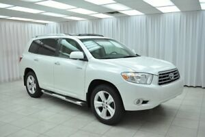 2009 Toyota Highlander LIMITED V6 4x4 7PASS SUV w/ BLUETOOTH, 3-