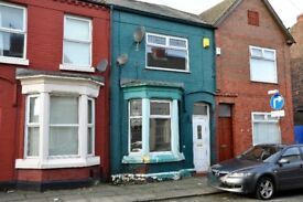 91 Becket St, Kirkdale. 3 bed mid terrace with GCH & DG, fitted kitchen. LHA welcome.