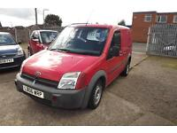 FORD TRANSIT CONNECT Low Roof Van L TDdi 75ps (red) 2006