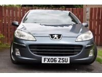 2006 Peugeot 407 Sedan 2.0HDI Executive, NO FAULTS, very clean inside&outside, motorway miles