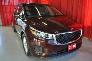 2018 Kia Sedona LX+ power sliding doors