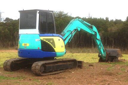 IHI 55VX Excavator 2007 Model Cowes Bass Coast Preview
