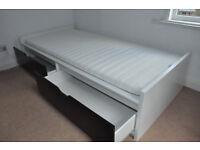 IKEA single bed Brimnes for kids 11-15