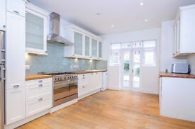 **4 bedroom house with garden in Chiswick - £3500pcm** Must view - Available early March!