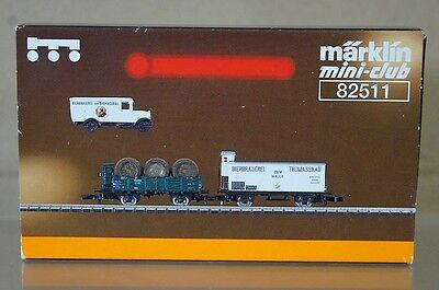 MARKLIN MäRKLIN 82511 Z GAUGE K.BAY THOMASBRAU MUNCHEN BIER BEER WAGON SET ne