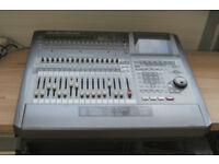 Roland VS-2480 24-track 24-bit 96kHz, flying faders, big screen