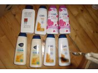 NEW SELECTION OF 8 AVON CARE LARGE BOTTLES OF BODY LOTIONS