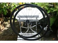 Reynolds Attack Carbon Clincher Wheelset Wheels Shimano DT240s 1450g Good Condition Zipp Mavic