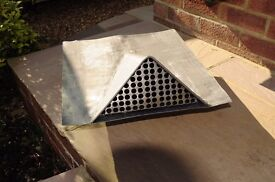Lead Roof Vent - Triangular Spigot Design - Two Available
