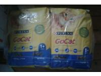 4 X 4kg bags New Unopened Go Cat Dried Cat Food Herring/Tuna. RRP £10 a bag.