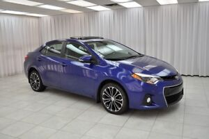 2014 Toyota Corolla S SEDAN w/ BLUETOOTH, HEATED SEATS, CLIMATE