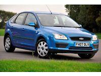 2007 Ford Focus 1.6 LX 5dr+FREE WARRANTY+1 FORMER KEEPER+FULL SERVICE HISTORY+LONG MOT