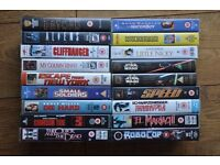 115 VHS collection- Many CLASSICS (includes A-team series Box set)