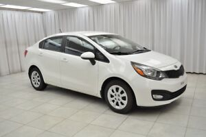 2013 Kia Rio LX+ 6SPD GDi SEDAN w/ BLUETOOTH, HEATED SEATS, USB