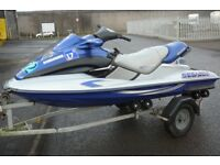 JETSKI / JET SKI - SEADOO BOMBARDIER GTX 951 WITH INDESPENSION TRAILER - 2001 - LOW HOURS
