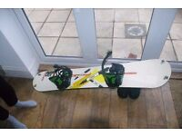 Signal Snowboard (~162cm length) (including Boots, Bindings and Snowboard Bag)