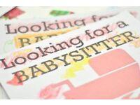 Babysittting / Nannie