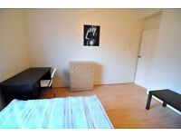 BIG DOUBLE ROOM FOR SINGLE/COUPLE IN ZONE 2 MILE END/BOW ROAD