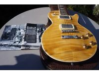 Les Paul Standard Kossoff stripped burst beautiful vintage Tone rider pups full re wire great case!!