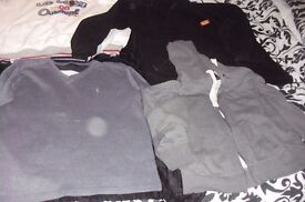 SELECTION OF MEN'S JUMPERS SIZE LARGE GREAT FOR WORK WORKING OUTDOORS